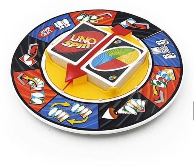راهنمایی بازی جذاب اونو اسپین Uno Spin + ترفند و قوانین های لازم